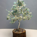 Green Aventurine Crystal Tree Love Energies February  Great Valentines Day Present