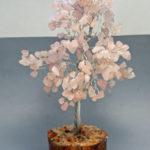 Rose Quartz Crystal Tree For Valentine's Day