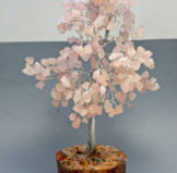 Rose Quartz Crystal Tree For Valentine's Day